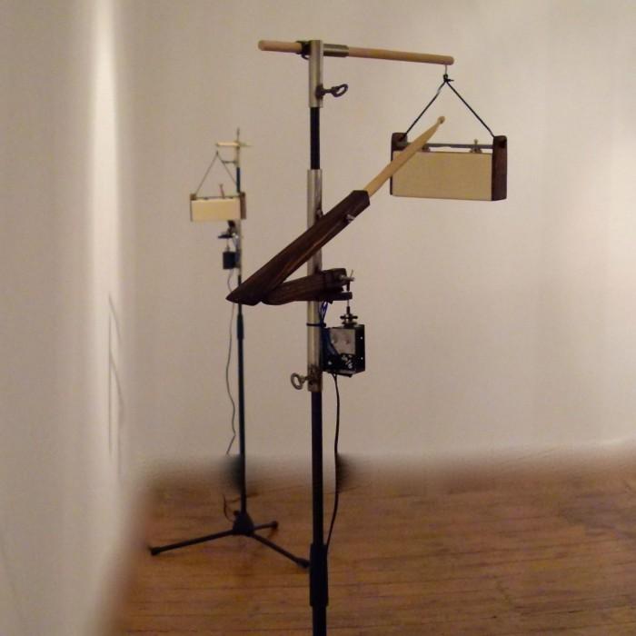 ein akustisch-elektronisches Metallophone