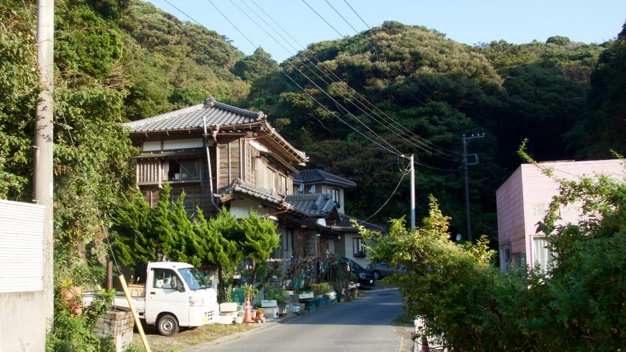 auf dem Weg nach Katsura